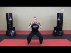 33 Minute Krav Maga Workout - Lower Body HIIT + Krav Combatives - YouTube