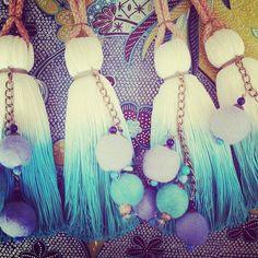Diy Tassel, Tassels, Baby Shawer, Drapes Curtains, Tassel Necklace, Decoupage, Art Projects, Ms, Facebook