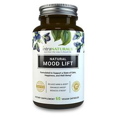CALM NOW Anxiety Relief and Stress Support Supplement - Herbal Blend Keeps Busy Minds Relaxed, Focused & Positive - Promotes Serotonin Increase - 5-HTP, B Vitamins, L-Theanine, St. Johns Wort & More