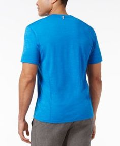 Id Ideology Light Weight Performance T-Shirt, Only at Macy's - Blue L