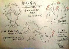 Twitter / KeiichiHonda: 以前聞かれた。【髪の描き方】です。説明長くなるので大まかな事 ...