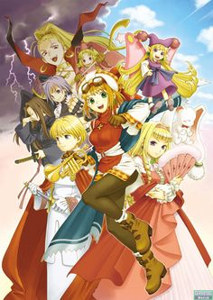 Rhapsody: A Musical Adventure is a tactical role-playing game for the PlayStation from Atlus USA and Nippon Ichi Software, wherein the main character Cornet sings to puppets with her magical horn and attacks her enemies with cakes, flans, and glittery justice hearts.