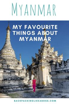 My trip to Myanmar was amazing, and these are my favourite things about Myanmar! From nature to massages, and from the beautiful people to the entrepreneurial spirit. Awesome! Visiting Myanmar temples, socialising with local Myanmar people, drinking Myanmar beer! Favourite things about Myanmar | Visiting Myanmar | Things to do and see in Myanmar | #myanmar #travel #southeastasia #trip