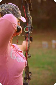 Real women bow hunt ~ as does our daughter-in-law KMF!