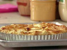 Apple brown butter tart with golden raisins