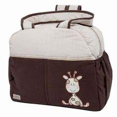 amplias pañaleras para bebe bolsa o back jirafita cafe beige
