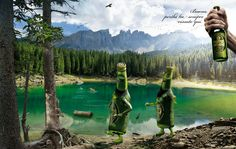 Inspiration Gallery — Beer Ads – From up North Rainier Beer, Ads, Pure Products, Graphic Design, Gallery, Amazing, Travel, Inspiration, Image