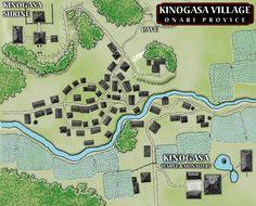village map layout fantasy japanese google maps castle maker building forest