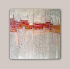Abstract Acrylic Painting Original Fine Art par linneaheideart