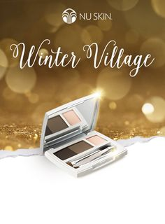 Define, shape and fill in your brows with our Eyebrow Shaping Kit. Be among the first to discover it in the Nu Skin Winter Village before its official launch in Eyebrows, Define Shape, Eyeshadow, Product Launch, Nu Skin, Kit, Skin Products, Winter, Beauty