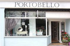 Portobello is a homemaking shop with painted furniture and linens all in a contemporary and French style. It's in Potters Bar in Hertfordshire.