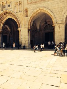 One of the gates to Jerusalem