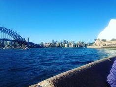 Please take me back to Australia and away from the cold #Australia #Sydney #sydneyoperahouse #sydneyharbourbridge #bluesky #sun #citylife #holiday by ithinkitssarah http://ift.tt/1NRMbNv