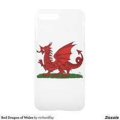 Red Dragon of Wales iPhone 7 Plus Case
