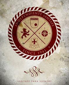 Santa Fe hincha # 1: Fondos de Pantalla del glorioso Indendiente Santa Fe Cool Walls, Hogwarts, Cool Stuff, Messi, Bb, Basket, Punk, Adidas, Stickers