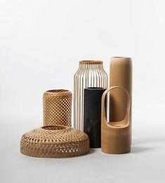 Trends to Copy: Modern Rattan Vibes, Home Accessories, Trends to Copy: Modern Rattan Vibes Slow Design, Rattan, Wicker, Bamboo Furniture, Furniture Design, Interior Accessories, Decorative Accessories, Vase Deco, Bamboo Design