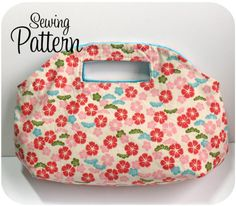 Dewdrop Handbag PDF Sewing Pattern