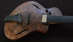 Dane VanDyk - 2010 Custom Dragonfly Fretless #071
