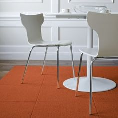 we can put some flor tiles under the table to make a nice defined area for dining and can give some earth tones here