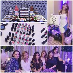 Perfect way to end the week by getting some pamper time at #Ruffabulous Parisian Mac party! Make up heaven!  I had a blast! Thank you @iloveruffag! Mwah!  #UsingMacCosmetics