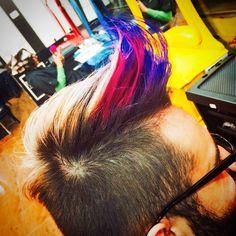 @luriancortez by Babi Carvalho #circushair #circusaugusta #hair #man #color #fashion #style