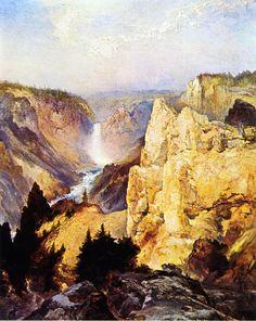 Grand Canyon of the Yellowstone by Thomas Moran