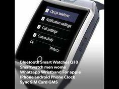 Bluetooth Smart Watches Q18 Smartwatch