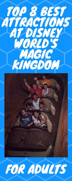 Top 8 Must Do attractions for Adults at Walt Disney World's Magic Kingdom