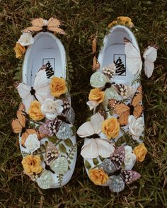 In love with these whimsical Slip-Ons designed by Vans Custom Culture ambassador, Danielle Perry!