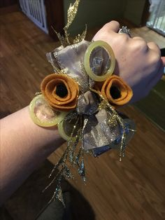 Condom corsage for bachelorette party