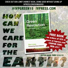 FREE BOOK from InterVarsity Press for #EarthDay! #IVPGreen15
