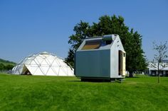 The Diogene Micro Home measures just 7.5 sq m (81 sq ft), but still contains all the basic...