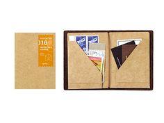 Midori Traveler's Notebook (Refill 011) Passport Size Craft file: Amazon.de: Bürobedarf & Schreibwaren