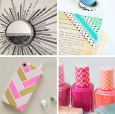 Washi Tapes have become my new favorite craft supply ever. They are super cheap and they come in all colors and patterns which makes it ha...