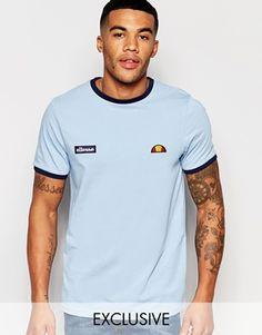 Ellesse L.S Ringer T-Shirt