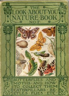The Look-About-You Nature Book: Butterflies and moths and how to collect them.