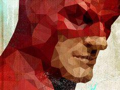 Dribbble - Daredevil 1 by Brian Miller