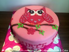 Owl cake/ uil taart