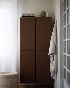 my scandinavian home: Umber and Chestnut Accents in a Lovely Swedish Home