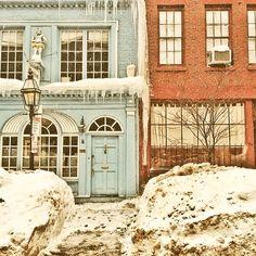 #BackBay #Boston #Snow