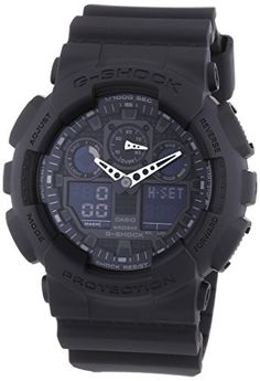 G-Shock Men's Quartz Watch with Analogue Digital Display and Resin Bracelet - http://www.darrenblogs.com/2017/03/g-shock-mens-quartz-watch-with-analogue-digital-display-and-resin-bracelet/