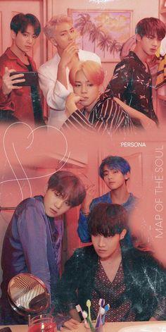 BTS Wallpapers Map of The Soul: Persona Concept Photo/Wallpaper Bts Wallpapers, Bts Backgrounds, Bts 2018, Foto Bts, Bts Bangtan Boy, Bts Jimin, Kpop, K Wallpaper, Les Bts