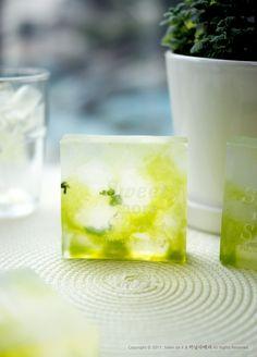 Mojito soap