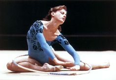 The 1st place by the amount of rhythmic gymnastics all-around medals won at RG World Championships (1963-2014) is held by Bulgaria - 42 medals! The photo: Bianca PANOVA (Bulgaria)