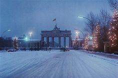 Weihnachten am Brandenburger Tor 1965