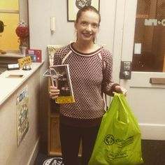 Congratulations to Jillian L. for winning today's #ColorGraphics #Brainstrecher contest!  #contest #winnier #local #community #win #free #giveaway #prize #tickets #giftbag #olympia #Washington #WA #mymixx96