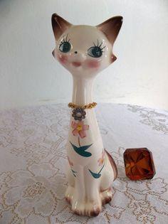 retro vintage cat by GGDestash on Etsy, $18.00