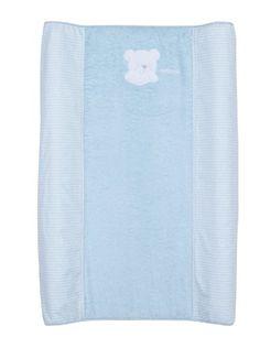 #bebe Petit Praia Orson Azul E34191110 – Funda vestidor bañera 70, color azul y blanco
