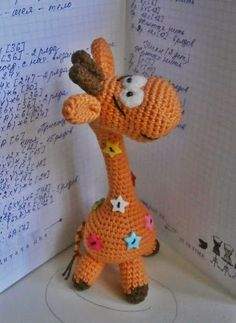 Free Pattern....amirugumi: crochet giraffe | make handmade, crochet, craft