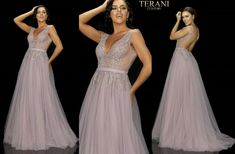 TERANI COUTURE 2011P1109 authentic dress. FREE FEDEX. BEST PRICE   eBay Terani Couture, Tulle Gown, Prom Dresses, Formal Dresses, Women Brands, Couture Fashion, Ball Gowns, Free, Ebay
